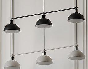 MENU HUBERT FRAME TRIBECA PENDANT LAMP by Soren 3D model 1