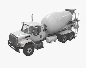 Mixer Truck International 7400 3D model