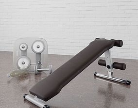 Gym equipment 21 am169 3D model