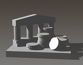 Treasury Marker for Lisboa Boardgame 3D printable model