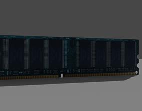 3D model 1Gb Ram stick 1333mhz - old ram