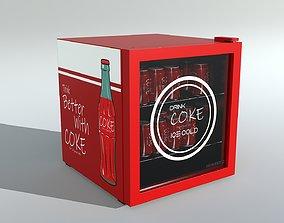 Mini Cooler PBR Game Ready 3D asset