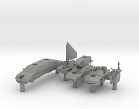 Team May Top Gear Battleship set 3D print model