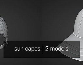 sun capes 3D model