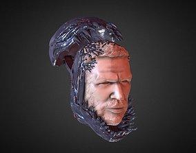 3D print model TOM HARDY VENOM INSPIRITED FIGURE HEAD
