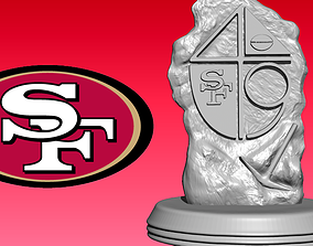 Statue The San Francisco 49ers - NFC - Wood model CNC