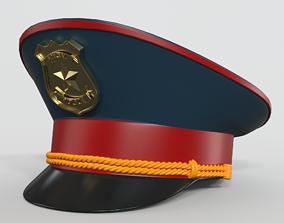hat 3D Police Hat