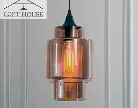 3D Hanging lamp LOFT HOUSE P-158