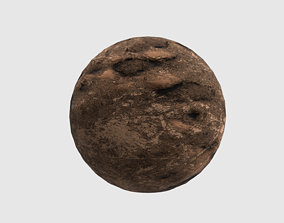 3D model GROUND TEXTURE MATERIAL