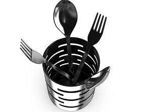 Cutlery Drainer 3D model