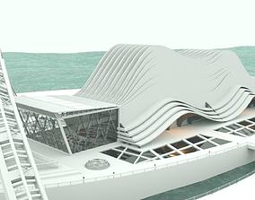 Architectural Concept 3D model