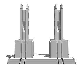 3D model Futuristic Dreams of an Architect Antonio Sant 1