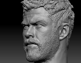 Thor head 3D print model people