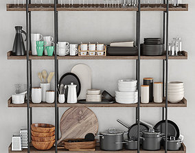 Kitchenware and Tableware 20 3D