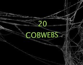Cobwebs Collection 3D model