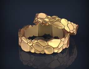 Wedding jewelry fashion rings 3D print model