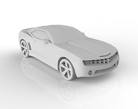 sport Chevrolet Camaro 3D asset