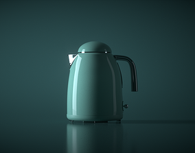 Kettle and Mixer 3D