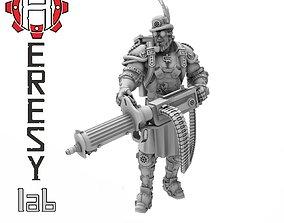 Heresylab - Steam Punk Gunner 3D print model