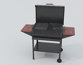 Barbecue Old 3D model