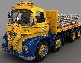 Foden S21 Flat Bed Truck 3D model