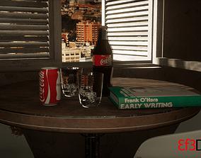 Coca Cola 3D asset