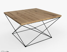 3D Angle Base Coffee Table by West Elm