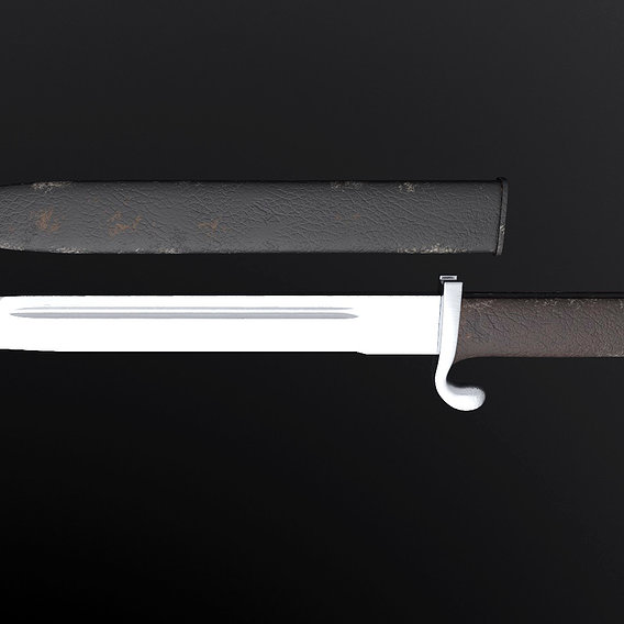German ceremonial bayonet shark tooth kS98