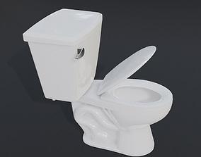 bathroom toilet 3D asset