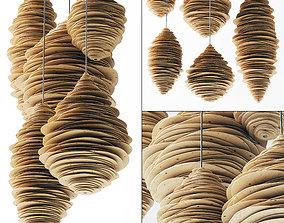 3D model Parametric vespiary decor n1