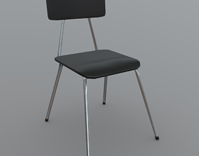 Chair 2 3D model realtime