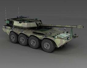 3D model Centauro Italian tank destroyer rmored vehicle 1
