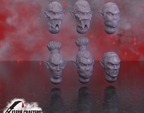 Nosferii - Mixed Heads 3D print model