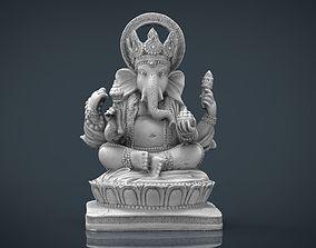 3D asset Ganesh Elephant