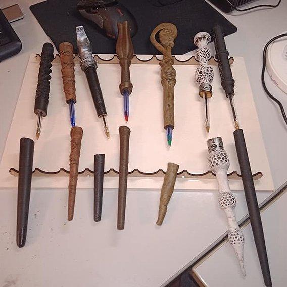 magic Wands Pen: Full set.