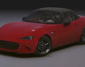3D model Realistic Mobile Car 03 Mazda MX5