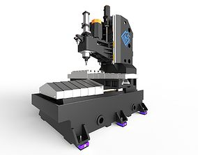 vertical-axis-milling-machine 3D model