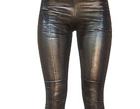 3D asset Legging Black 2