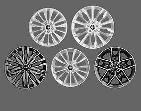 3D model Kia Sedan 2019 Rim Set