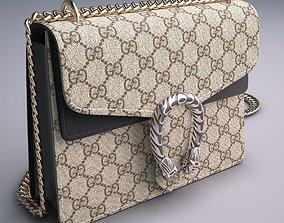 Gucci Dionysus GG Supreme mini bag 3D model handbag