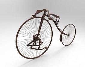vintage bike 3D print model