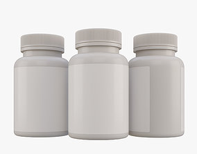 energy 3D Medicine Bottle