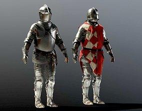 SOLDIER Medieval Armor 3D