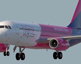 3D WIZZ AIR A320