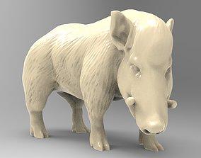 3D printable model Wild boar