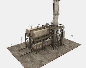 3D asset Oil Refinery Module