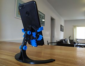 3D printable model MECHANICAL PHONE STAND