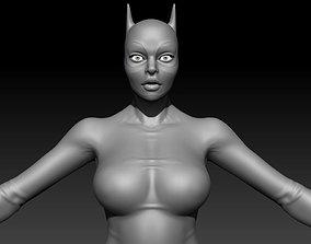 woman Hero Woman Female Basemesh 3D