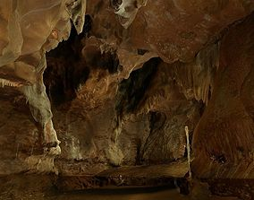 3D model Natural Cave in Spain - Cova del Orgui