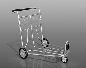 Trolley For Shopping And Carrying 3D